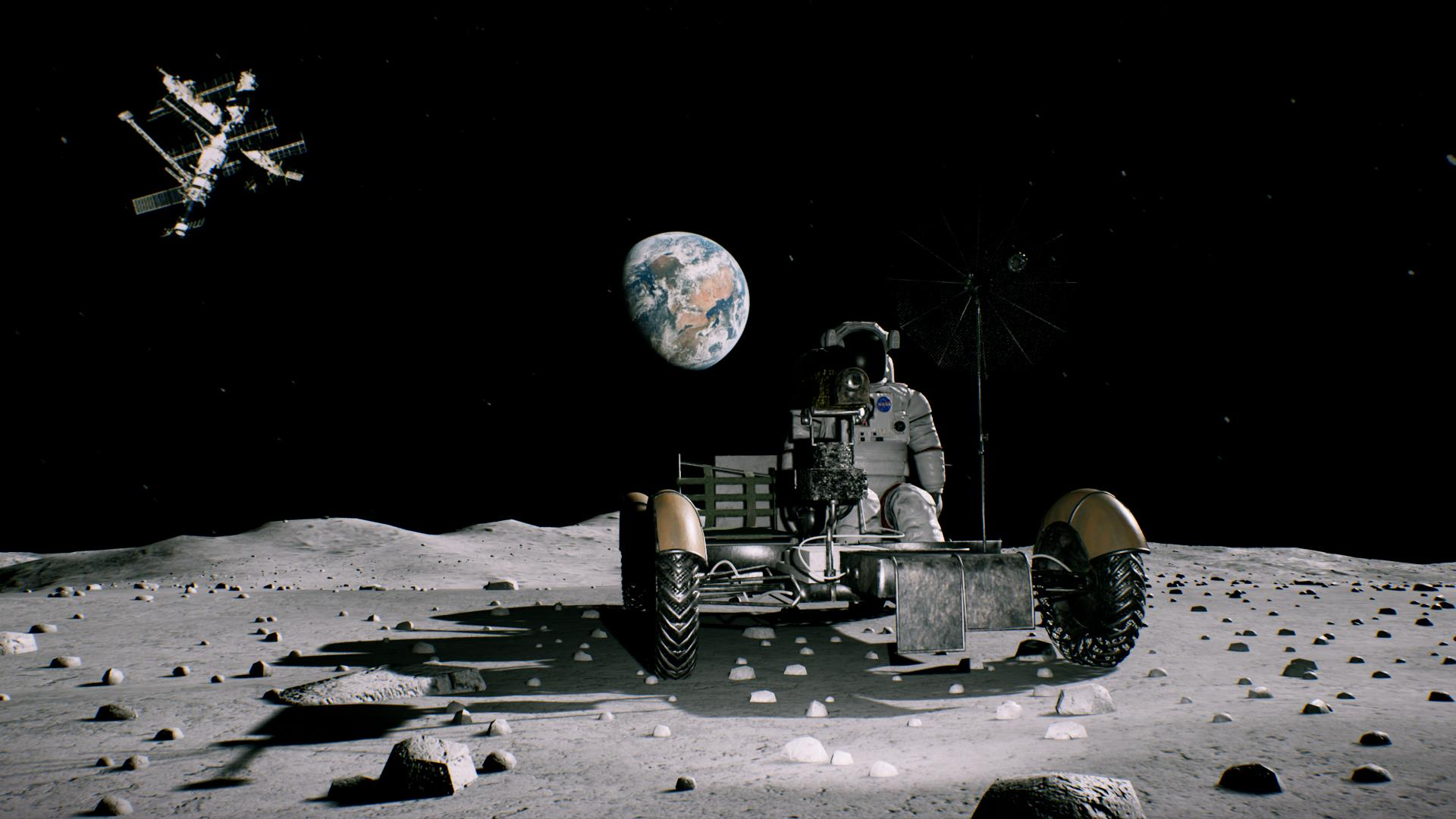 Lunar Rover VR Experience
